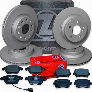 Brzdná sada ZIMMERMANN přední + zadní Audi A6 3.0 TDI quattro (4G5, C7, 4G)