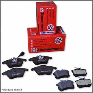 Brzdové destičky přední + zadní ZIMMERMANN AUDI A6 2,5 TDI (4B C5)