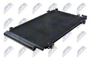 Kondenzátor, chladič klimatizace TOYOTA AVENSIS (T25 #) (03-) 1.6 I 16V