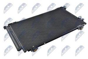 Kondenzátor, chladič klimatizace TOYOTA AVENSIS (T25 #) (03-) 2.0 I 16V