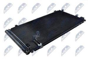 Kondenzátor, chladič klimatizace TOYOTA AVENSIS VERSO (ACM20, CLM20) (01-) 2.0 D4D